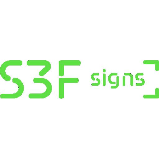 S3F Signs App Pro