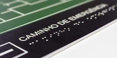 Signalisation en Braille