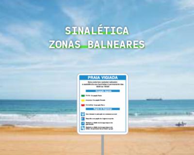 Sinalética Zonas Balneares