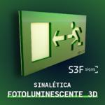 3D Photoluminescent Signage