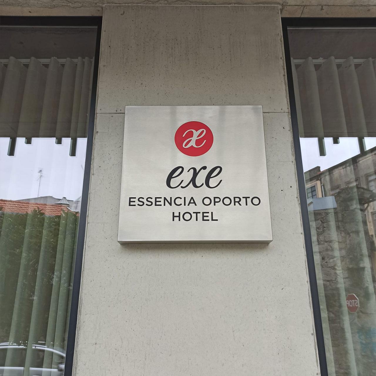 Hotel Exe Porto – Lettering